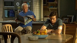 Lou Carpenter, Mason Turner in Neighbours Episode 6814