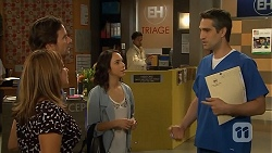 Terese Willis, Brad Willis, Imogen Willis, Dr Anthony Croker in Neighbours Episode 6814