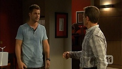 Mark Brennan, Paul Robinson in Neighbours Episode 6814