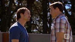 Brad Willis, Matt Turner in Neighbours Episode 6815