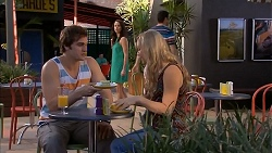 Kyle Canning, Kate Ramsay, Georgia Brooks in Neighbours Episode 6815