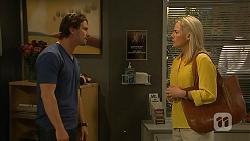 Brad Willis, Lauren Turner in Neighbours Episode 6815