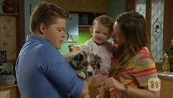 Callum Jones, Nell Rebecchi, Sonya Mitchell in Neighbours Episode 6816