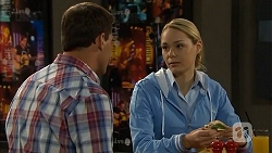 Matt Turner, Snr. Const. Kelly Merolli in Neighbours Episode 6817