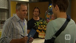 Karl Kennedy, Brad Willis, Josh Willis in Neighbours Episode 6818