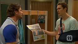 Brad Willis, Josh Willis in Neighbours Episode 6818
