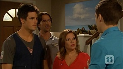 Chris Pappas, Brad Willis, Terese Willis, Josh Willis in Neighbours Episode 6819