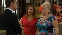 Paul Robinson, Terese Willis, Sheila Canning in Neighbours Episode 6819