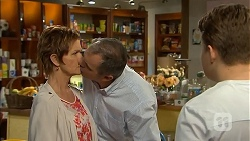 Susan Kennedy, Karl Kennedy, Callum Jones in Neighbours Episode 6820