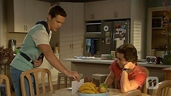 Josh Willis, Mason Turner in Neighbours Episode 6820