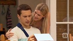 Josh Willis, Amber Turner in Neighbours Episode 6820