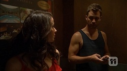Kate Ramsay, Mark Brennan in Neighbours Episode 6820