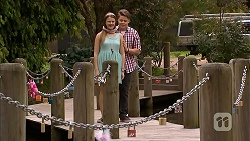 Josie Lamb, Callum Jones in Neighbours Episode 6820