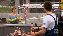 Kyle Canning, Chris Pappas in Neighbours Episode 6821
