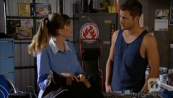 Danni Ferguson, Mark Brennan in Neighbours Episode 6821