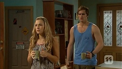Georgia Brooks, Kyle Canning in Neighbours Episode 6821