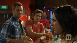 Mark Brennan, Mason Turner, Imogen Willis in Neighbours Episode 6821