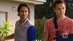 Brad Willis, Josh Willis in Neighbours Episode 6822