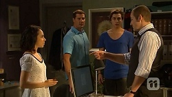 Imogen Willis, Matt Turner, Mason Turner, Toadie Rebecchi in Neighbours Episode 6822