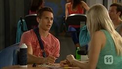 Josh Willis, Amber Turner in Neighbours Episode 6823