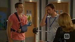 Josh Willis, Brad Willis, Terese Willis in Neighbours Episode 6823