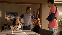 Imogen Willis, Brad Willis, Terese Willis, Josh Willis in Neighbours Episode 6823