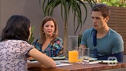 Imogen Willis, Terese Willis, Josh Willis in Neighbours Episode 6824