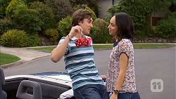 Mason Turner, Imogen Willis in Neighbours Episode 6824