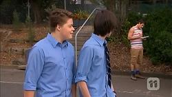 Callum Jones, Bailey Turner, Kyle Canning in Neighbours Episode 6824
