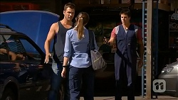 Mark Brennan, Danni Ferguson, Chris Pappas in Neighbours Episode 6825