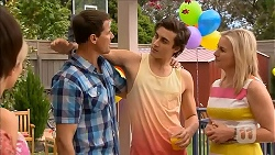 Matt Turner, Mason Turner, Lauren Turner in Neighbours Episode 6825