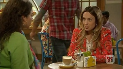 Patricia Pappas, Sonya Mitchell in Neighbours Episode 6826