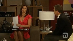 Rebecca Napier, Paul Robinson in Neighbours Episode 6829
