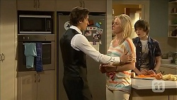 Mason Turner, Lauren Turner, Bailey Turner in Neighbours Episode 6829