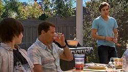 Bailey Turner, Matt Turner, Mason Turner in Neighbours Episode 6830