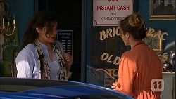Patricia Pappas, Sonya Mitchell in Neighbours Episode 6830
