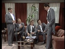 Tom Ramsay, Jim Robinson, Shane Ramsay, Paul Robinson, Des Clarke in Neighbours Episode 0295