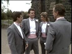 Paul Robinson, Des Clarke, Scott Robinson, Jim Robinson in Neighbours Episode 0295