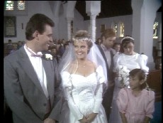 Des Clarke, Daphne Clarke, Clive Gibbons, Zoe Davis, Lucy Robinson in Neighbours Episode 0295