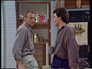 Jim Robinson, Paul Robinson in Neighbours Episode 0329