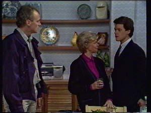 Jim Robinson, Helen Daniels, Paul Robinson in Neighbours Episode 0330