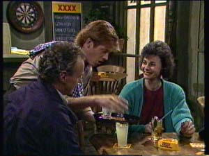 Clive Gibbons, Jim Robinson, Ruth Wilson in Neighbours Episode 0331