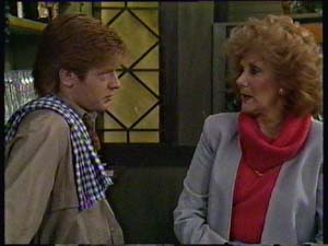 Clive Gibbons, Madge Bishop in Neighbours Episode 0331