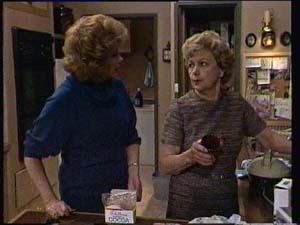Edna Ramsay, Madge Bishop in Neighbours Episode 0334