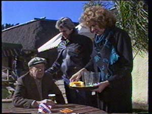 Dan Ramsay, Madge Mitchell, Shane Ramsay in Neighbours Episode 0335