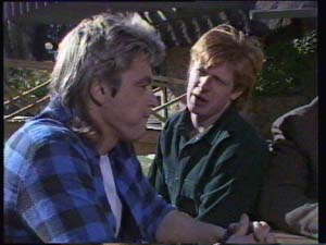 Shane Ramsay, Clive Gibbons in Neighbours Episode 0335