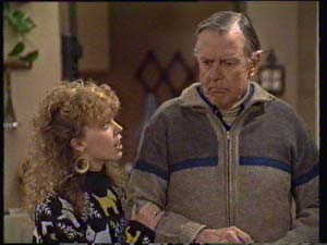 Charlene Mitchell, Dan Ramsay in Neighbours Episode 0335