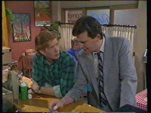 Des Clarke, Clive Gibbons in Neighbours Episode 0336
