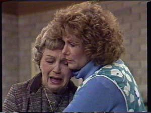 Edna Ramsay, Madge Bishop in Neighbours Episode 0339