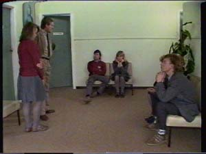 Sue Parker, Mike Young, Jane Harris, Scott Robinson in Neighbours Episode 0339